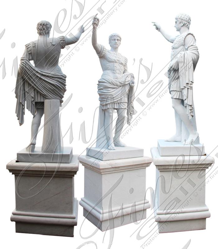 Marble Augustus of Prima Porta Statue