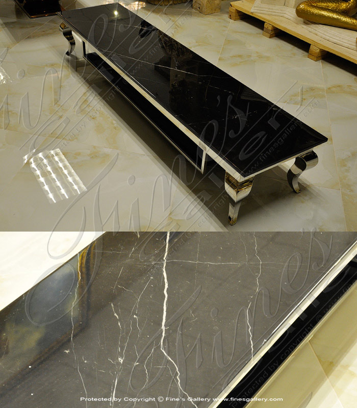 Marquina Black Table
