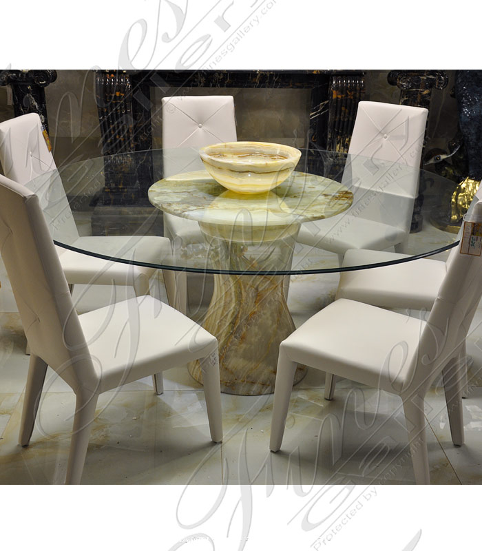 Onyx Glass Table Base