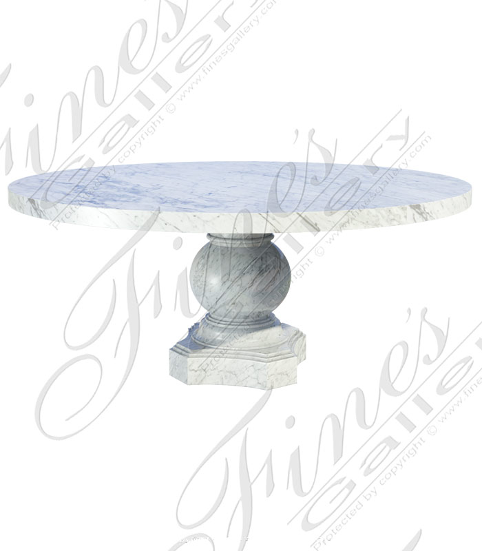 Italian Carrara Mable Table