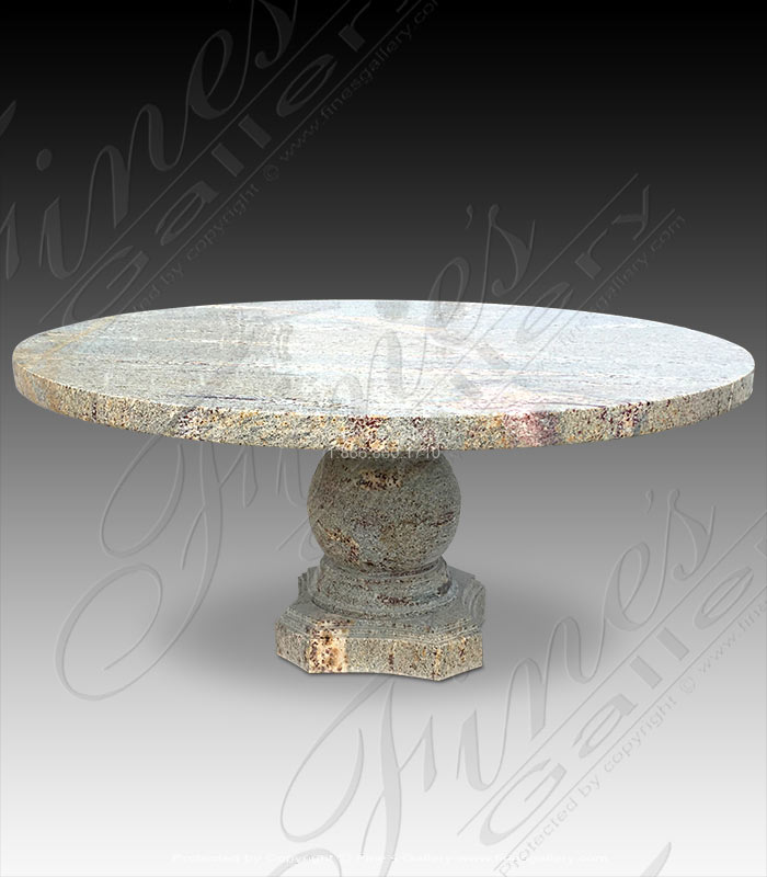 Solid Granite Dining Table