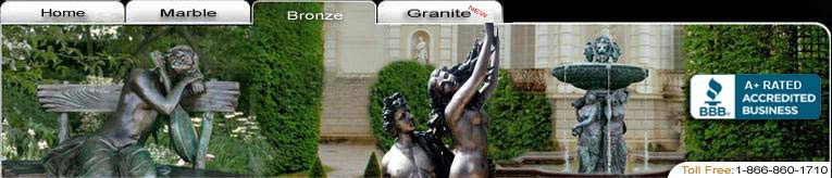Beautiful Bronze Statues , Male , Female , Animals , Planters , Vases ,  and much more