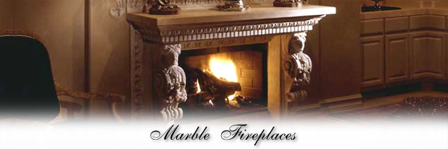Marble Fireplace Mantels and Surrounds all Handcarved