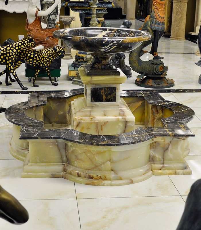 All Marble fountains