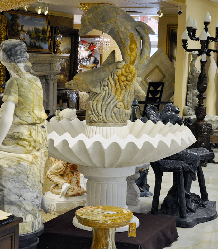 Wide selection of Ocean themed fountains