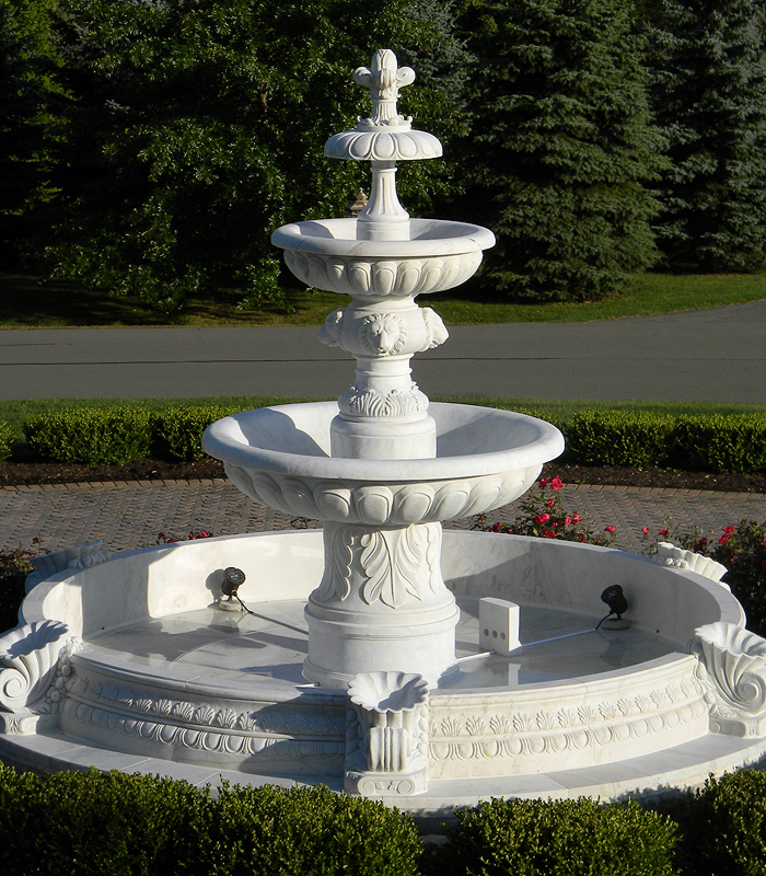Marble Grand Fountains Beautiful Designs From The World