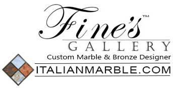 Fine's Gallery Marble and Bronze Creations a Custom Designer