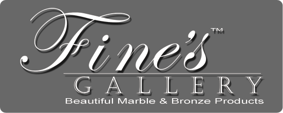 Fine's Gallery - Marble Fireplaces & Fountains and more..